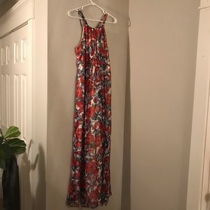 Pea in the Pod Floral Maxi Dress